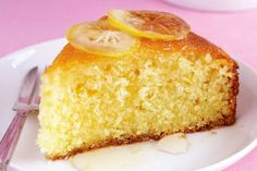 Portuguese Simple Lemon Cake Recipe - A delicious Portuguese style simple lemon cake (bolo de limão simples) that is easy to make and ve - Food Cakes, Cupcake Cakes, Bolos Light, Greek Cake, Semolina Cake, Semolina Recipe, Moist Cakes, Eat Cake, Cake Recipes