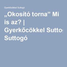 """""""Okosító torna"""" Mi is az? Album, Card Book"""