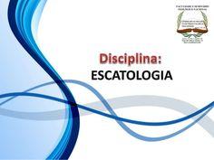 FACULDADE E SEMINÁRIOS TEOLÓGICO NACIONAL DISCIPLINA: ESCATOLOGIA ORIENTAÇÕES O Slide aqui apresentado, tem como objetivo ...