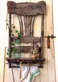 Alter Stuhl als Ablage. (Cool Crafts Decor) Alter Stuhl als Ablage. (Cool Crafts Decor) Alter Stuhl als Ablage. (Cool Crafts Decor) Alter Stuhl als Ablage. Repurposed Furniture, Rustic Furniture, Diy Furniture, Victorian Furniture, Antique Furniture, Painted Furniture, Garden Furniture, Modern Furniture, Bedroom Furniture