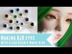 How to make resin eyes for BJDs - YouTube