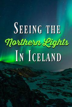 Northern Lights Pin