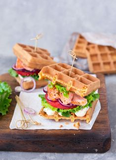 Lunch Ideas, A Table, Waffles, Fries, Healthy Lifestyle, Sandwiches, Cooking Recipes, Mint, Summer