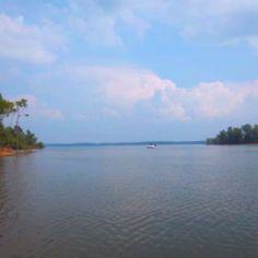 My favorite place- Kerr lake
