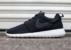 7cdd8c0ab7ac Nike Roshe Run Mens Black Light Ash Grey White Black Black Light Ash Grey  White 511881 095 Sneakers