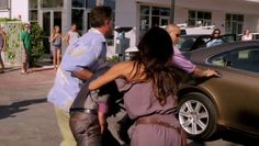 """Burn Notice 5x02 """"Bloodlines"""" - Fiona Glenanne (Gabrielle Anwar), Sam Axe (Bruce Campbell), Jesse Porter (Coby Bell) & Takeda (Brian Tee)"""
