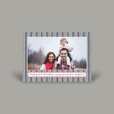 Warmest WIshes 5x7 Christmas Card (10 pk)