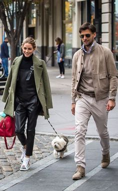 The Olivia Palermo Lookbook : Olivia Palermo and Johannes Huebl look stylish in NYC