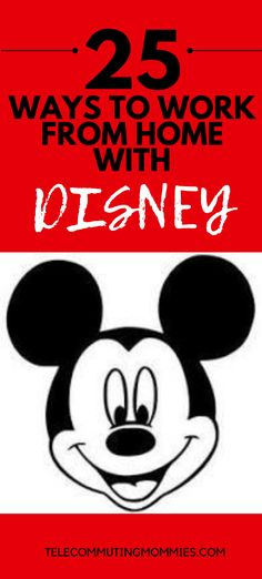 Looking for a legitimate work at home company? There are over 25 ways you can work from home with Disney. Working online is a great option for stay at home moms. Work From Home Companies, Work From Home Jobs, Earn Money From Home, How To Make Money, Home Blogs, Education Jobs, Legitimate Work From Home, Making Extra Cash, Stay At Home Mom