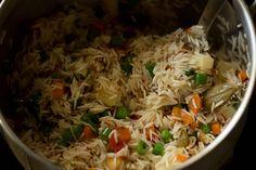 veg pulao recipe or vegetable pulao recipe, how to make veg pulao