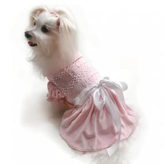 Bell of the Ball Smocked dress Maltese Dogs, I Love Lucy, Yorkie, Smocking, Bridesmaid Dresses, Bridesmaids, Your Pet, Baby Shoes, Embroidery