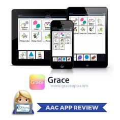 . {AAC App Review} Grace – Picture Exchange for Non-Verbal People  Info from Lisa Domican, co-creator of the Grace App and mother of Liam and Gracie Domican who both have autism,…