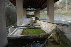 Old public washing - basins in Rosignano Marittimo (Tuscany).  #TuscanyAgriturismoGiratola
