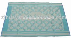 Huayang Area Rug Indoor Outdoor Patio Deck Home Decor Plastic mat/rugs and carpet