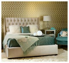 Find This Pin And More On My Design Luxury Decoration The Name Of This Photograph Is Bedroom Wallpaper Ideas