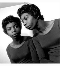 Nina Simone (Eunice Kathleen Waymon) 1952 photo by Herb Snitzer