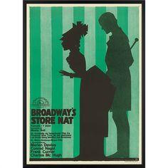 Vintage movie poster from 1927: Broadway's Big Night - Danish artist Sven Brasch (1886-1970)