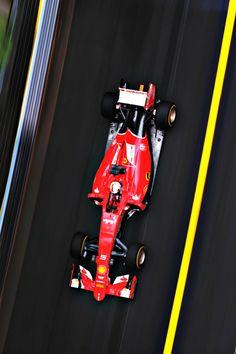Sebastian Vettel l Monaco 2015