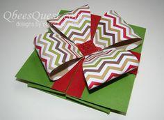 Qbee's Quest: Square Box Card Tutorial
