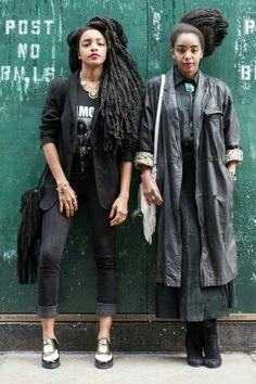 Ciprianna and Takenya Quann from Vogue.com