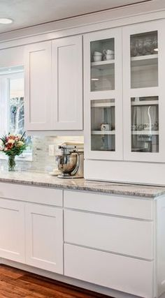 Contemporary Kitchen Cabinets White Cabinets