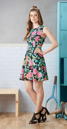 Só na Antix Store você encontra Vestido Rosas da Glória com exclusividade na…