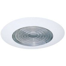 "View the Elco EL13 6"" Shower Trim with Fresnel Lens at LightingDirect.com. With brushed nickel trim. $25 for trim."