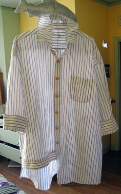 Stuff You Can't Have: Upcycled Men's Shirt #8 (or maybe 9)