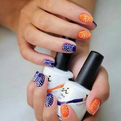 BEAUTIFUL! Nail Design Created By Elena Radionova from NSI Ukraine