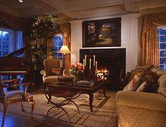 Intimate Living Room - Livingston Design ▇  #Home #Design http://www.IrvineHomeBlog.com/HomeDecor/  ༺༺  ℭƘ ༻༻