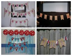 """Birthday, Wedding, Holiday, Photo Props!!!! Burlap banner with appliqued letter's for any theme!!! Banner's start at $25. Not only can you use them at the party, but they make for great decoration in your child's room. Also available are """"I Do"""", """"Mr.  Mrs."""", """"She Said Yes"""", wedding date, due date and many more!!! If you need a photo prop, check out my page Dot Dot Dot Embroidery  Custom Vinyl Wall Art."""