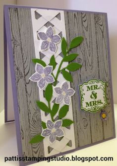 Stampin' Up! Petite Petals with Label Love for Anniversary