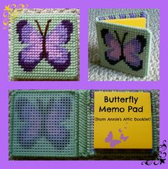 Butterfly Memo Pad (from Memo Pad Covers, Annie's Attic)