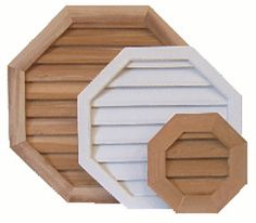 Louver, Vents and Grilles for the HVAC Industry Gable Vents, Beach Properties, Residential Construction, Shutters, New Homes, Mirror, Wood, Garages, Garage