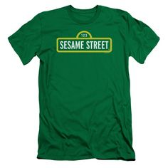 """Checkout our #LicensedGear products FREE SHIPPING + 10% OFF Coupon Code """"Official"""" Sesame Street / Logo-short Sleeve Adult 30 / 1-kelly Green-sm - Sesame Street / Logo-short Sleeve Adult 30 / 1-kelly Green-sm - Price: $29.99. Buy now at https://officiallylicensedgear.com/sesame-street-logo-short-sleeve-adult-30-1-kelly-green-sm"""