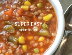 Super Easy Soup Recipe: Venus De Milo Soup from @sherimcshane