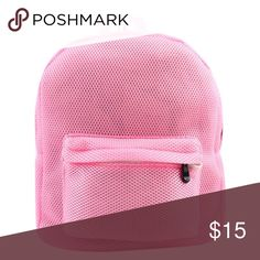 Pink Mesh Backpack *****Nastygal for exposure *****  Ships NEXT DAY ⚡️😃📦⚡️ Holds are cool 👍🏽💞 Bundle + Save 15% off 2+ items ➕💱 No trades. Fck all that ⚫️ No paypal. Too confusing ⚫️ Don't call me Hun 👊🏽💥  EVERY OFFER CONSIDERED ... 🎈👀   📲 Like us on Facebook for first dibs on new stuff : Digitalgirl [link in profile] Nasty Gal Bags Backpacks