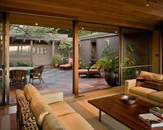 Interior Courtyard: