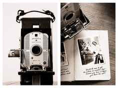old polaroid cam