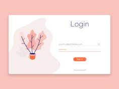 A clean login form designed for a home-made website  Follow: https://dribbble.com/shots/3546598-Sign-In  Vincenzo Insinna