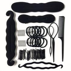 79Pcs Mix Tools Hair Accessories Girls Styling Braiding  For Women  #Unbranded #HeadbandsFashion #AnniversaryDatingGiftParty