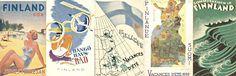 1800-luvun vägvisareista 1930-luvun matkailupropagandaan