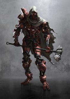 Degenesis: Amsuno - The Machine Man by Gerald Parel *