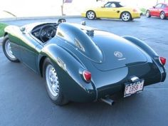 Restored and Modified MGA Twin-Cam Roadster