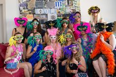Bachelorette Party in New Orleans- New orleans mask