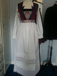 Made by Inger Johanne Wilde Folk Costume, Costumes, Norwegian Rosemaling, Norway, My Favorite Things, Iceland, Sweden, Sky, Patterns