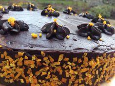 Orange-Chocolate Cake