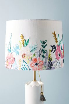 Alicia Galer Juliette Lamp Shade by Anthropologie in Assorted, Lighting