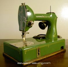S.O.S. Machines - fabulous page of vintage sewing machine eye candy.
