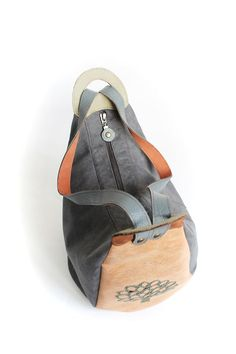 "Made by Arina Rasputina: bag rucksack ""Birds"""